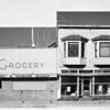 Downtown Whitefish 1952<br /> Markus Grocery and Marshal Wells Hardware<br /> Lacy Photo<br /> 0079