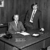 1st National Bank 1973<br /> Whitney Smith and Walt Nussbaum<br /> Lacy Photo<br /> 0015-6771