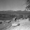 Big Mountain from City Beach 1930's<br /> MA-0211