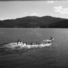 Waterskiers on Whitefish Lake