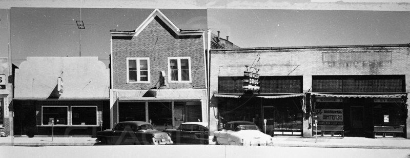 Downtown Whitefish 1952<br /> 0083
