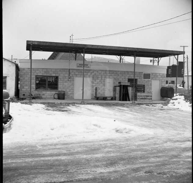 Whitefish Post Office 1958 Back