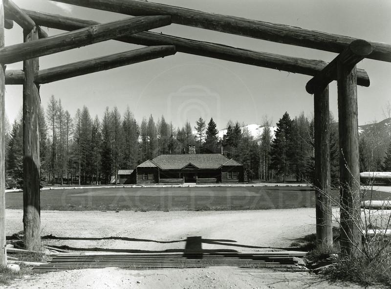 Whitefish Lake Golf Course Club House 1950