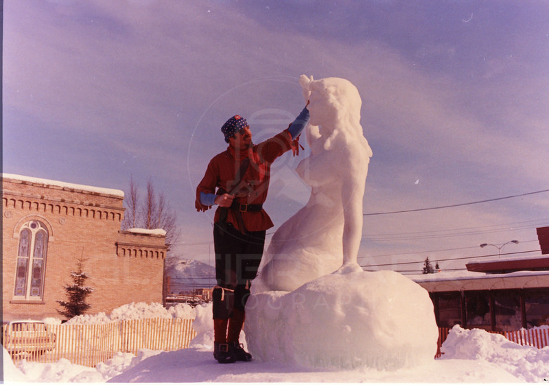 Whitefish Winter Carnival Sculpture