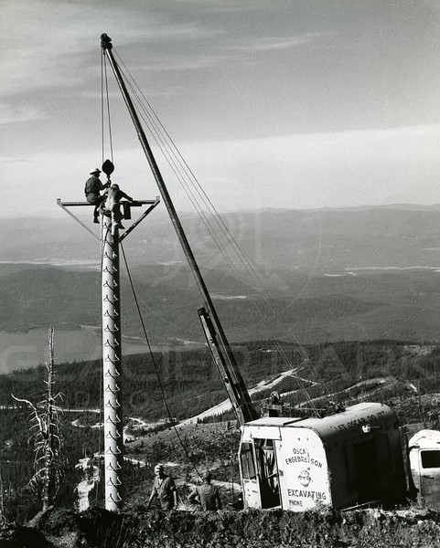 Adding towers to Chair 1 1960's