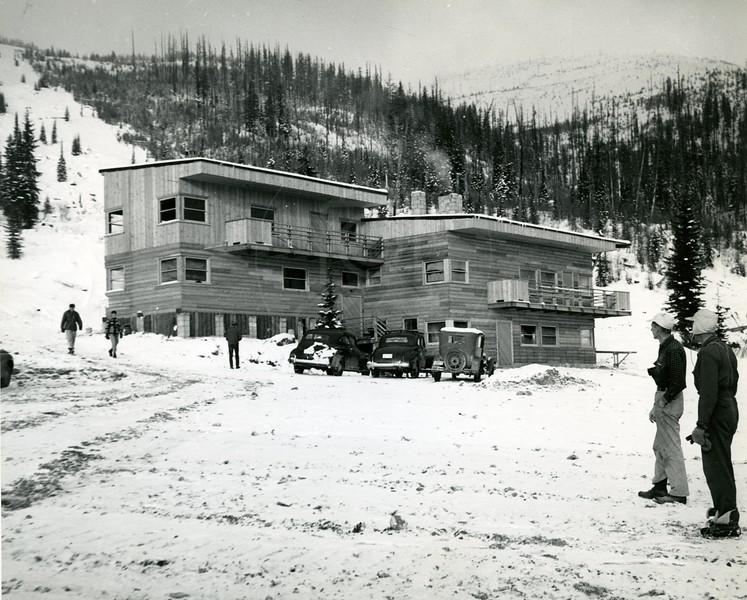 Fall 1947 Original Ski Lodge