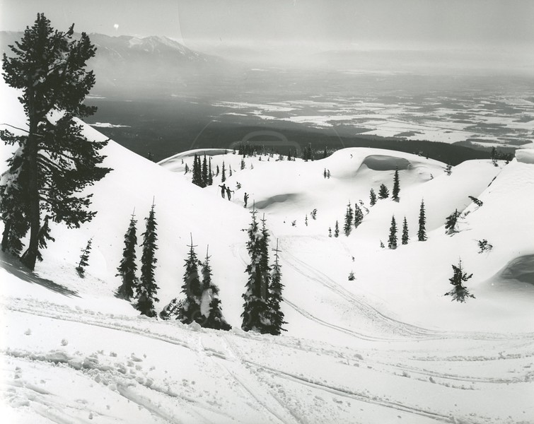 The Big Drift on the Big Mountain