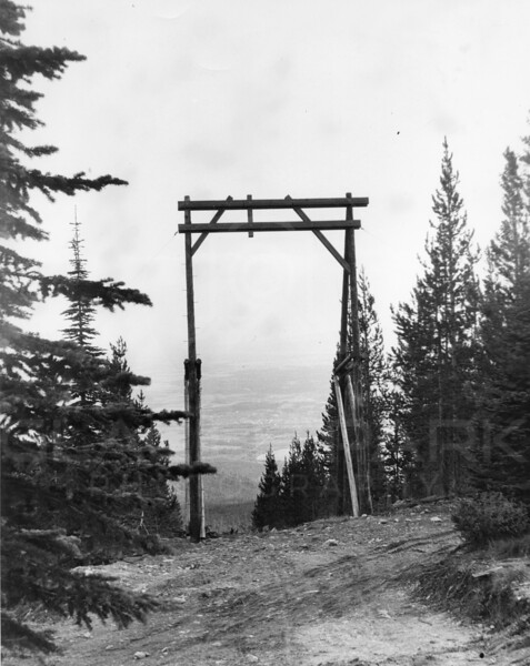 Tower 7 at top of the Original T-bar Slope