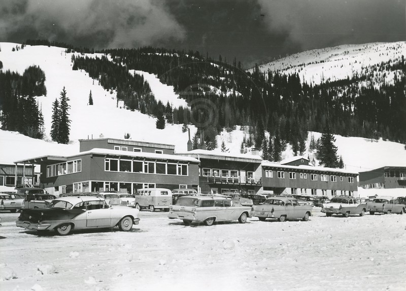 Big Mountain Ski Lodge 197' feet long