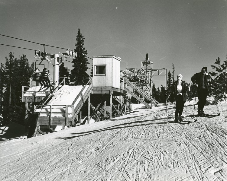 Top of Chair 1 Big Mountain 1960