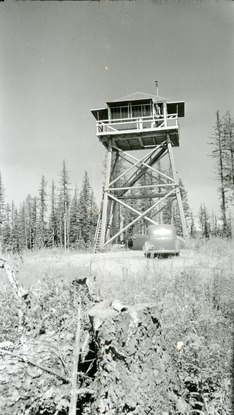Ferde Greene Photo, 8/11/1938, 9 Mile Lookout, Howard Greene