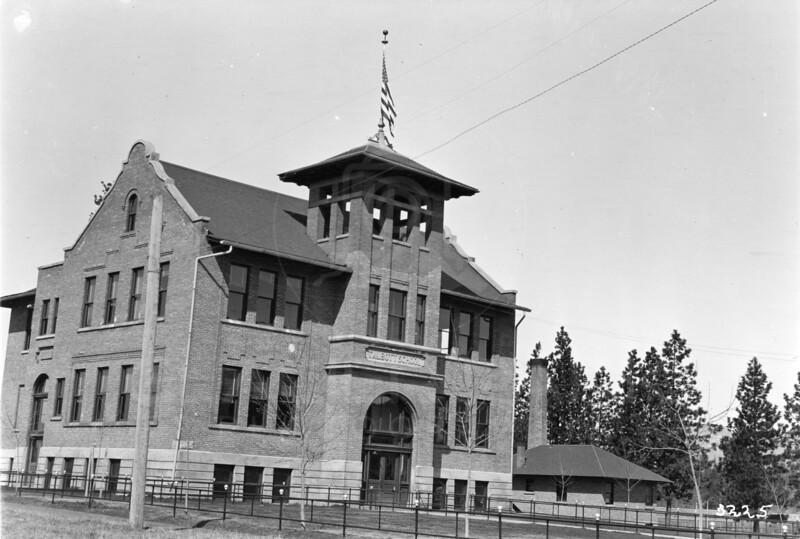Ferde Greene Photo<br /> 4/16/1915 Talbot School, Howard Greene (Ferde's son) went to grade school to High School, Columbia Falls<br /> 3225