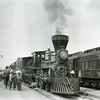 Ferde Greene Photo<br /> 6/3/1924, Conductor Armbaugh, Columbia Falls, Montana<br /> 2385
