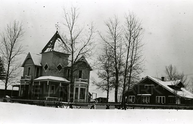 Ferde Greene Photo<br /> 12/271920, Greene's 2nd home in Columbia Falls, Montana, rented from school teacher Margaret Tway taught 2nd grade.<br /> 4329