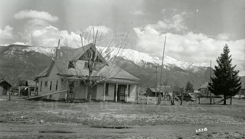 Ferde Greene Photo, 5/9/1938, Taken from 4th Ave looking East