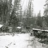 12/4/1923 1PM, Tom Lee Camp, Crystal Creek known to Howard as Cedar Creek, 6 miles N of  Columbia Falls, Montana<br /> f16 1/25<br /> 4379