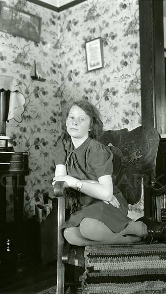 Ferde Greene Photo, 3/12/1939, F8, 1/2, Ruth Ann Greene