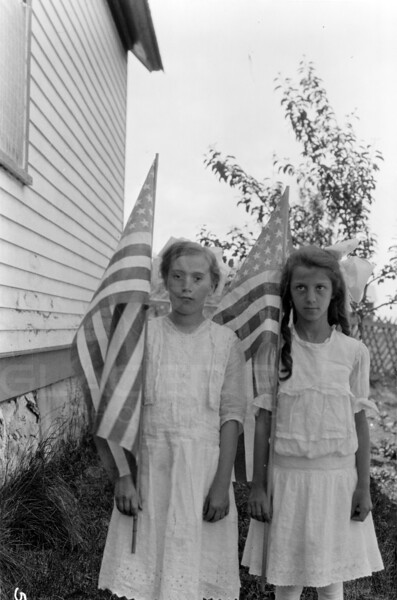 Ferde Greene Photo<br /> 7/5/1917 Emily Gregory, Betty Greene's little sis, Columbia Falls, Montana<br /> 5243