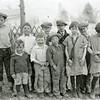 Ferde Greene Photo<br /> 4/11/1926 John Jordan, Malvin Greene, George Watt, Junior Kildoff, Howard Greene,Front Row Left, Bob Jordan, Alan Greene, Francis Lee, Ruby Greene, Mary Jordan - Malvin's Birthday<br /> 5417