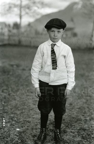Ferde Greene Photo<br /> 4/12/1925 Malvin Greene 7 years old<br /> 1403