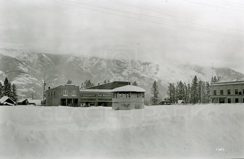 Ferde Greene Photo<br /> 2/4/1929 Gaylord Hotel burned down<br /> 1451