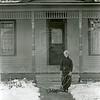 Ferde Greene Photo, 11/17/1935, Ruth Ann Greene at Arnet House, 7th Street & 3rd Ave W