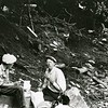 Ferde Greene Photo<br /> 8/27/1930 1PM Howard and Ferde camp on Columbia Mountain Trail<br /> 1480