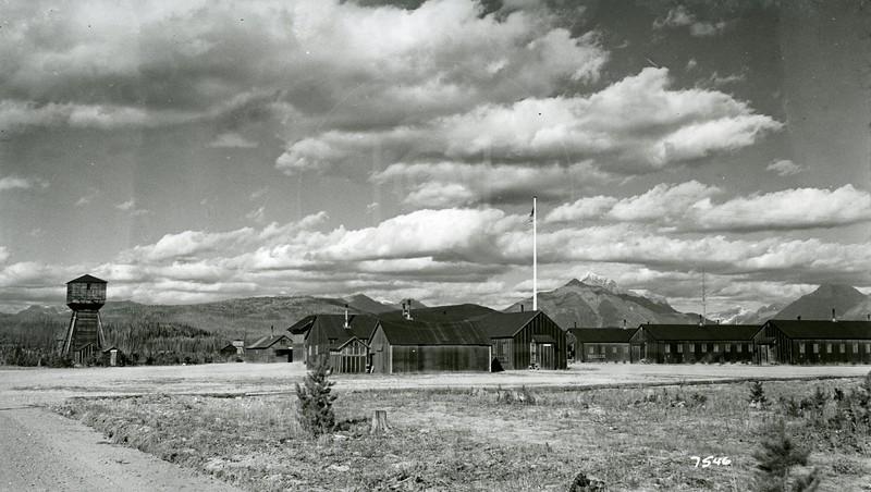 Ferde Greene Photo, 10/25/1938, Malvin Leslie Greene's Camp, Apgar, Glacier National Park, Montana