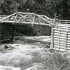 Ferde Greene Photo<br /> 6/16/1924, South Fork Rd, Hungry Horse Bridge, Hungry Horse Creek, Columbia Falls, Montana<br /> 2386