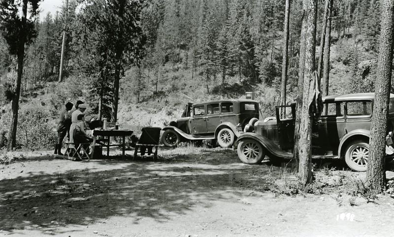 Ferde Greene Photo<br /> 7/12/1935 Russel Morgans Camp<br /> 1498
