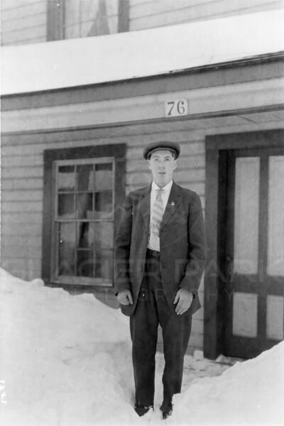 Ferde Greene Photo<br /> 2/14/1915 Leonard Gregory, Elizabeth's brother<br /> 1/25 f8<br /> 1221
