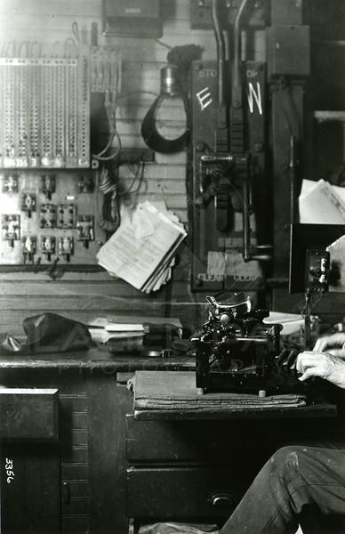 Ferde Greene Photo<br /> 5/24/1922 2AM, Att the Key, Columbia Falls, Montana<br /> 3356