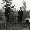 Ferde Greene Photo<br /> 4/7/1919, Left John Ogg, Ferde Greene, Ruby, Gracy Ogg, Malvin Green in buggy & Elizabeth Greene, Columbia Falls, Montana<br /> 2280