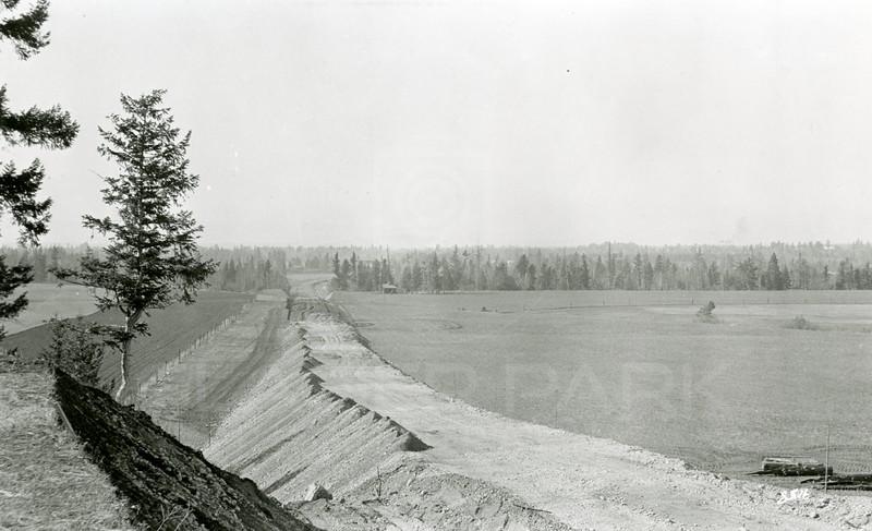 Ferde Greene Photo, 10/17/1936, New Road, Columbia Falls Junction 206 & HIghway 2
