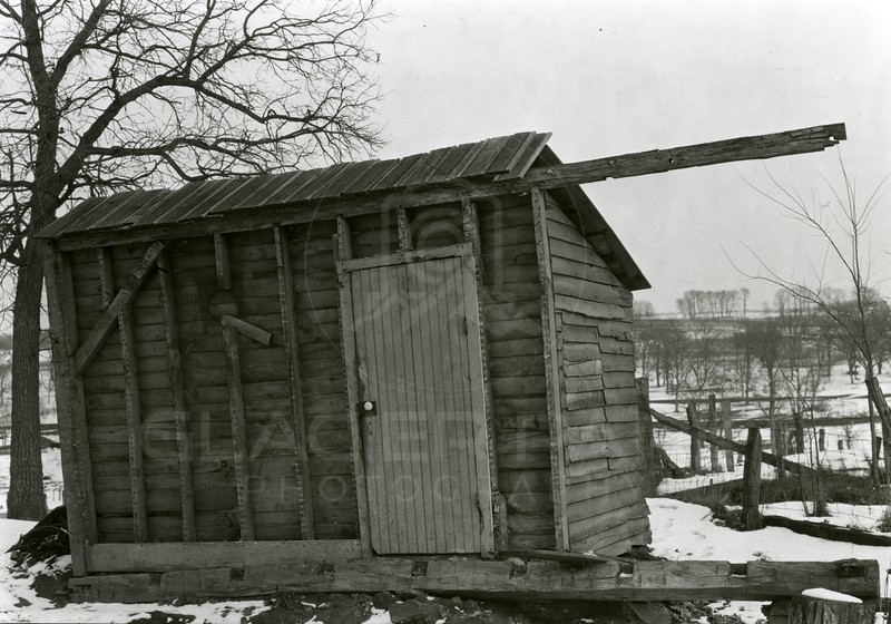 Ferde Greene Photo<br /> 2/18/1920 The Old House Remains<br /> 2308