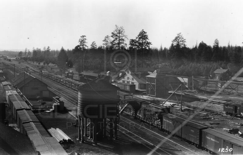 Ferde Greene Photo<br /> 1917 Great Northern Railway<br /> 1250