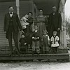 Ferde Greene Photo<br /> 2/4/1920, Mr & Mrs. Nancy Bacon Family, Ferde & Elizabeth holding Howard, Melvin in front, Ruby, Columbia Falls, Montana<br /> 3304