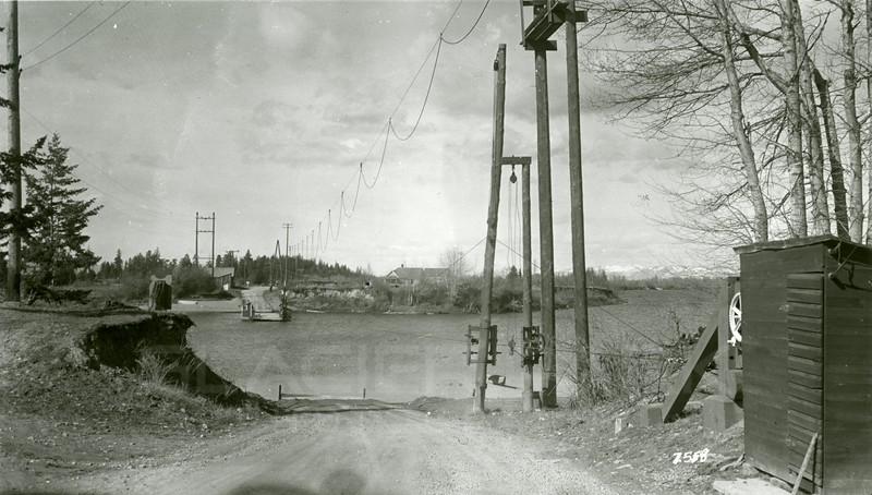 Ferde Greene Photo, 3/17/1940, Holt Ferry, Bigfork, Montana