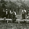 Ferde Greene Photo<br /> 6/27/1920, Riffle Range, Columbia Falls, Montana, Ferde Greene, Carl Sagen, John Stone<br /> 6320