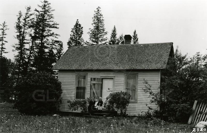 Ferde Greene Photo<br /> 6/25/1920, Bush House, Columbia Falls, Montana<br /> 2320