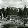 Ferde Greene Photo<br /> 4/19/1926 Echo Lake Mill, Bigfork, Montana<br /> 2418