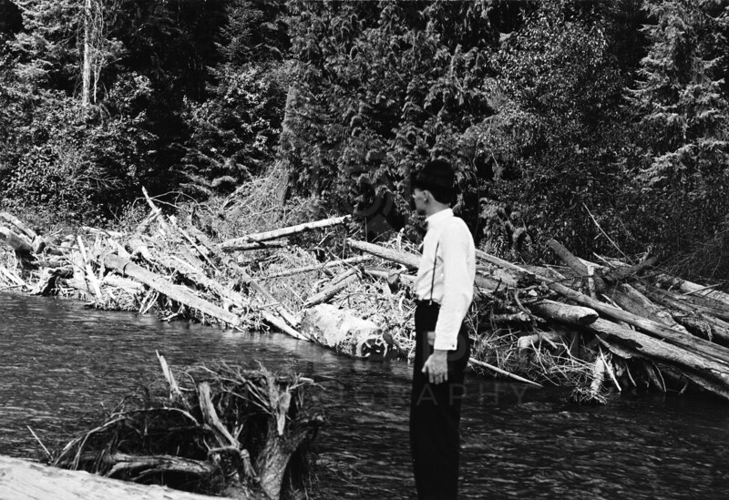 Ferde Greene Photo<br /> 8/23/1915 Kootenai River, Montana<br /> 5214