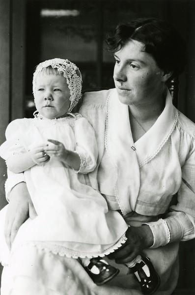 Ferde Greene Photo<br /> 6/30/1918, Ruby in new dress, Elizabeth Greene lived to be 94, Columbia Falls, Montana<br /> 2263