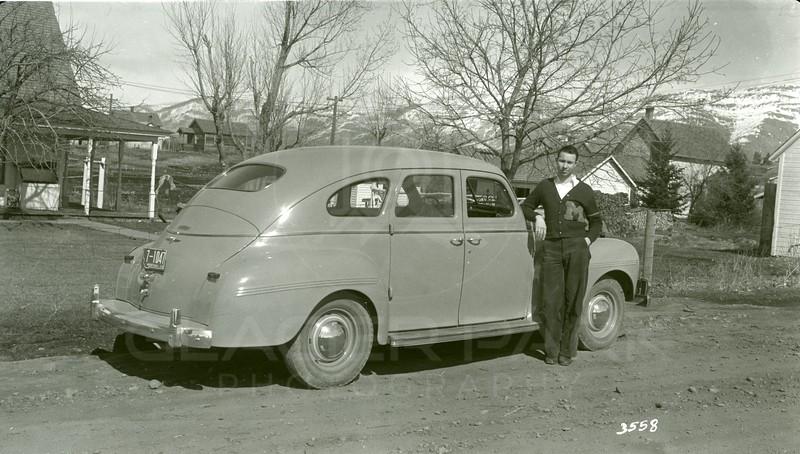 Ferde Greene Photo, 3/22/1940, Malvin Greene, Dodge 1940, Ferde's new car