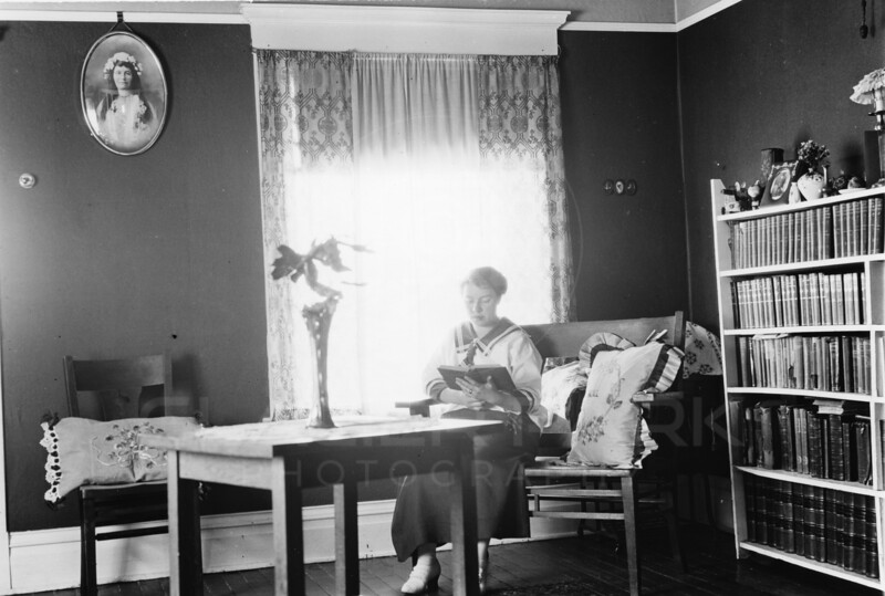 Ferde Greene Photo<br /> 5/2/1916 Elizabeth Greene rented home in Columbia Falls<br /> 4226
