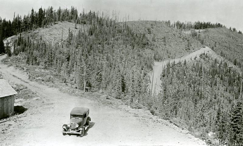 Ferde Greene Photo, 8/29/1936, Desert Mountain Lookout