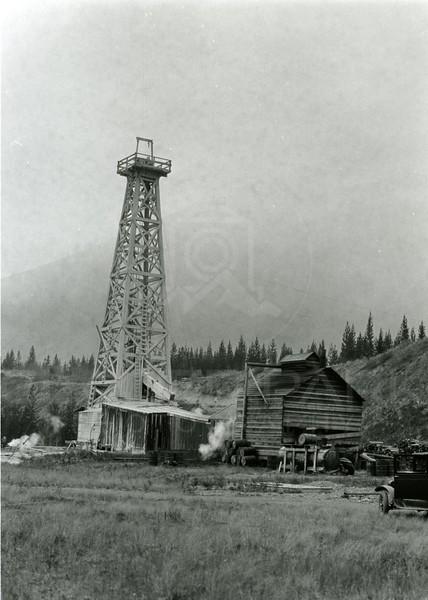 Ferde Greene Photo<br /> 9/21/1929 North Fork BC Oil<br /> f11 1/25<br /> 4469