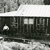 Ferde Greene Photo<br /> 6/28/1921, Shorty Orvis' home, Columbia Falls, Montana<br /> F16 1/25<br /> 1340