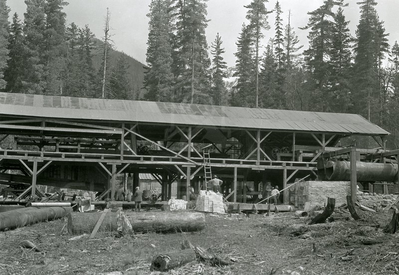 Ferde Greene Photo<br /> 4/19/1926 11AM Echo Lake Co. Mill<br /> f16 1/25<br /> 1418