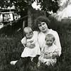 Ferde Greene Photo<br /> 6/18/1918, Annie Gregory with Malvin & Ruby Greene, Columbia Falls, Montana<br /> 5289